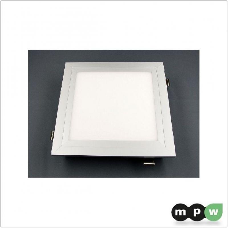 mpw led panel einbaurahmen set deckeneinbau typ 600x600 101590. Black Bedroom Furniture Sets. Home Design Ideas