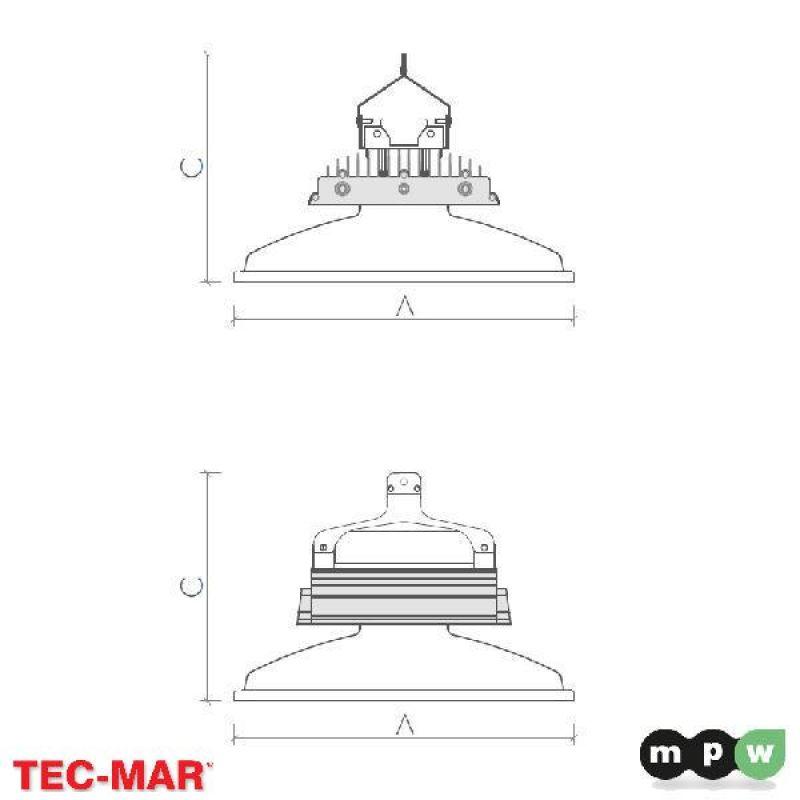 mpw tec mar led orion2 vs 17000 5000k 150w 116049. Black Bedroom Furniture Sets. Home Design Ideas