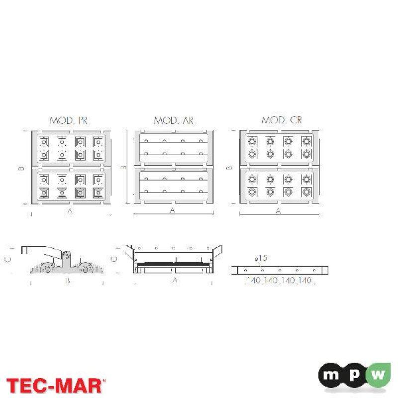 mpw tec mar led iper prince cr 112100 5000k 960w 114562. Black Bedroom Furniture Sets. Home Design Ideas